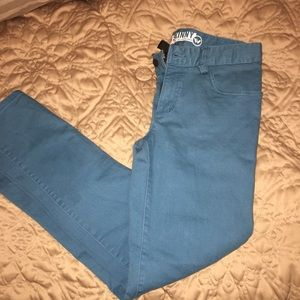 Shaun White blue/teal girls jeans